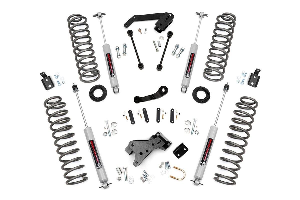 4in Jeep Suspension Lift Kit (07-18 Wrangler JK)