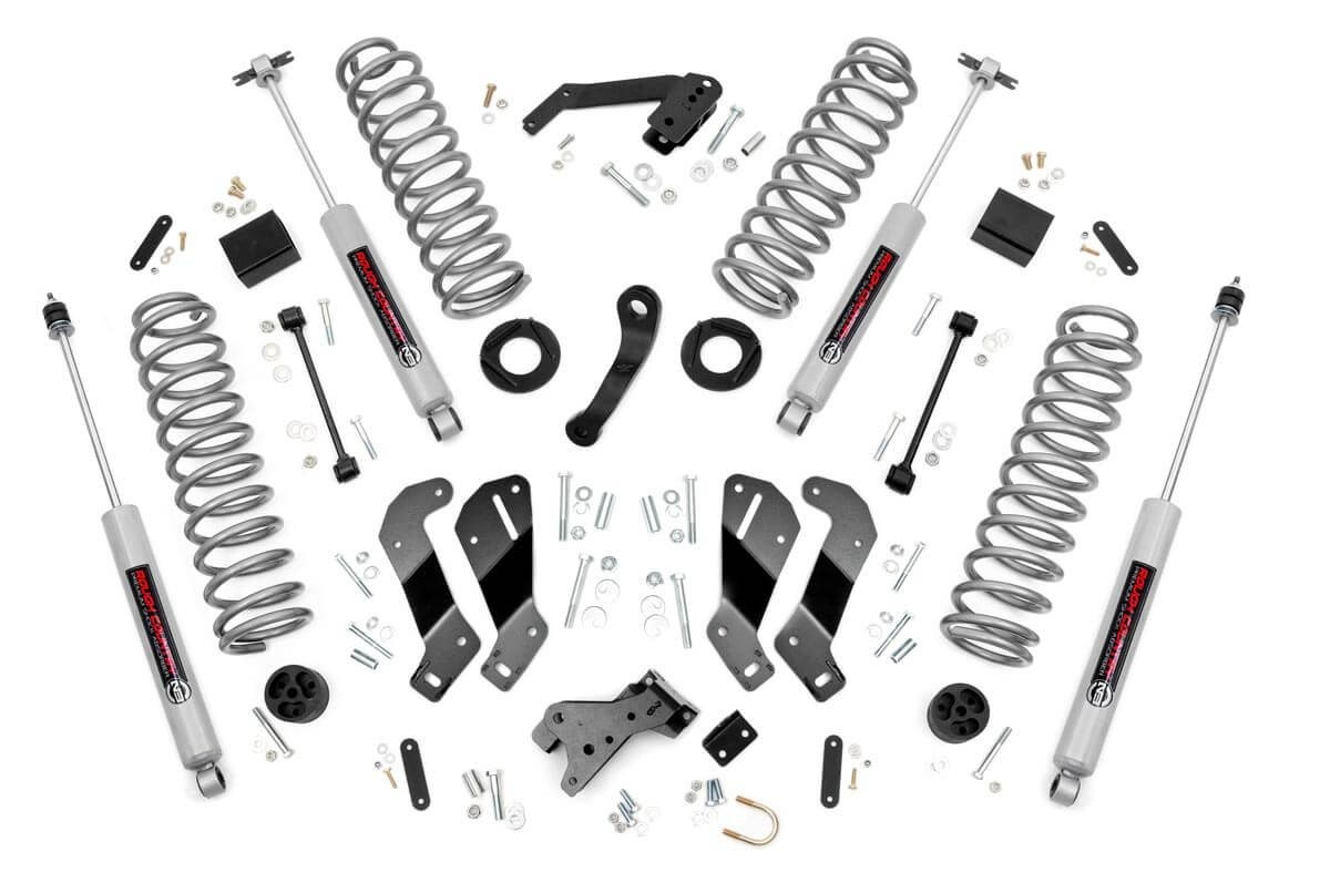 3.5in Jeep Suspension Lift Kit | Control Arm Drop (07-18 Wrangler JK)