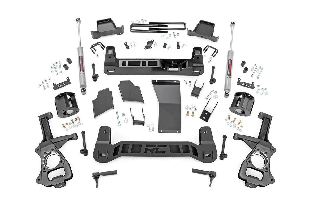 4in GM Suspension Lift Kit (2019 GM 1500 TRAILBOSS / AT4 PU 4WD)