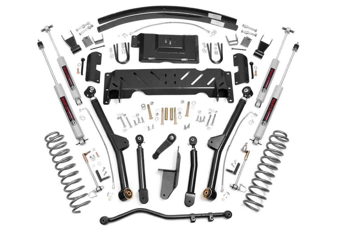 4.5in Jeep Long Arm Suspension Lift Kit (84-01 XJ Cherokee)